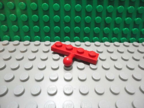 Lego 1 Red 1x4 plate with towball hitch