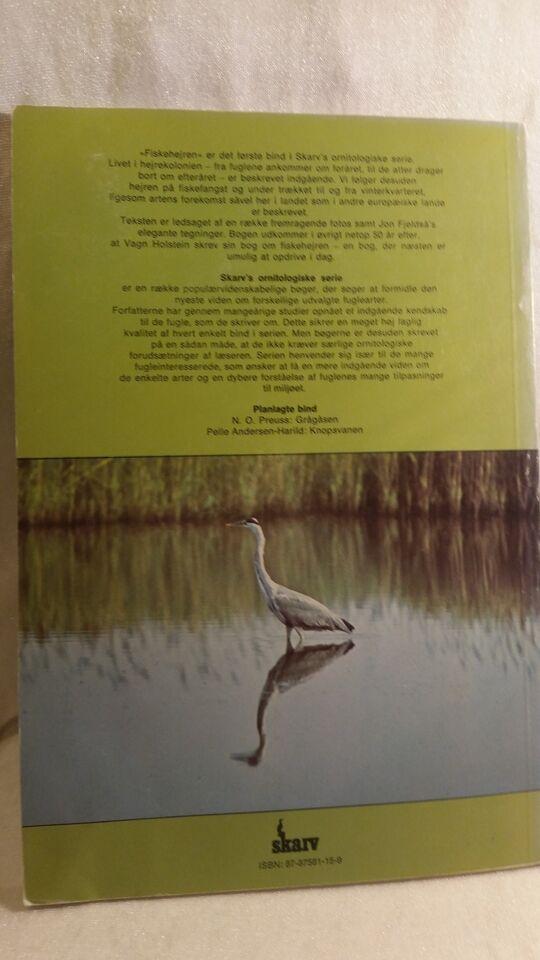 Fiskehejren, Tommy Dybbro, emne: dyr