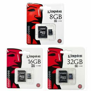 KINGSTON-8GB-16GB-32GB-GB-SDC4-MICRO-SD-HC-SDHC-FLASH-MEMORY-CARD-CLASSE-4-TF