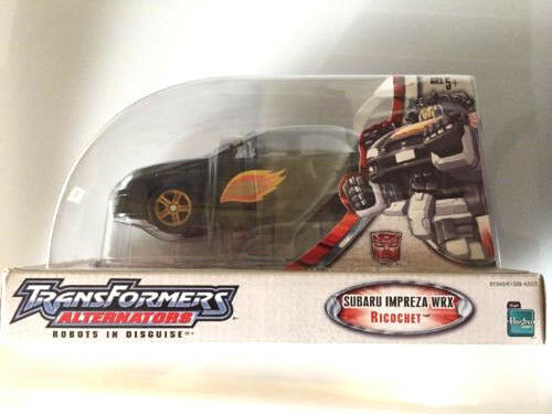 Hasbro Transformers Alternators RICOCHET Stepper (Jazz repaint) MISB NEW Mint G1