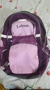 Lands/' End Girls/' ClassMate Sweet Mint Blue Medium Backpack