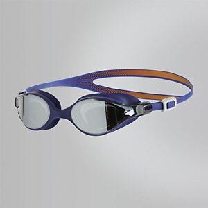 Speedo-Women-V-Class-Virtue-Mirror-Goggles-Fluo-OrangeUltramarineSilver-One