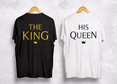 King Queen t shirt assorti couple Interracial Future femme cadeau St-Valentin Lovers