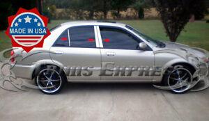 2000-2003-Mazda-Protege-6Pc-Chrome-Pillar-Post-Stainless-Steel-Trim