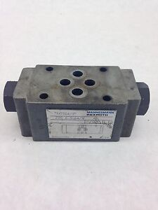 USED-REXROTH-Z2S6-1-64-V-CHECK-HYDRAULIC-VALVE-FAST-SHIPPING-A201