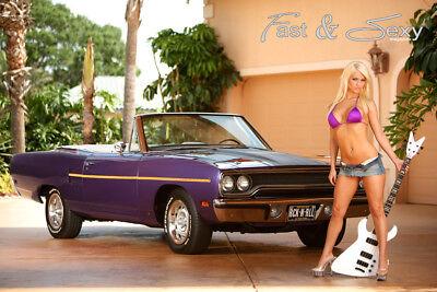 sexy corvette posters