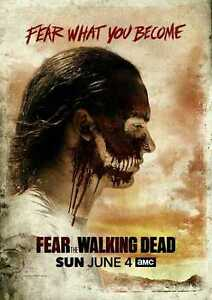 POSTER-FEAR-OF-THE-WALKING-DEAD-ZOMBIE-KIM-DICKENS-CLIFF-CURTIS-TV-LOCANDINA-8