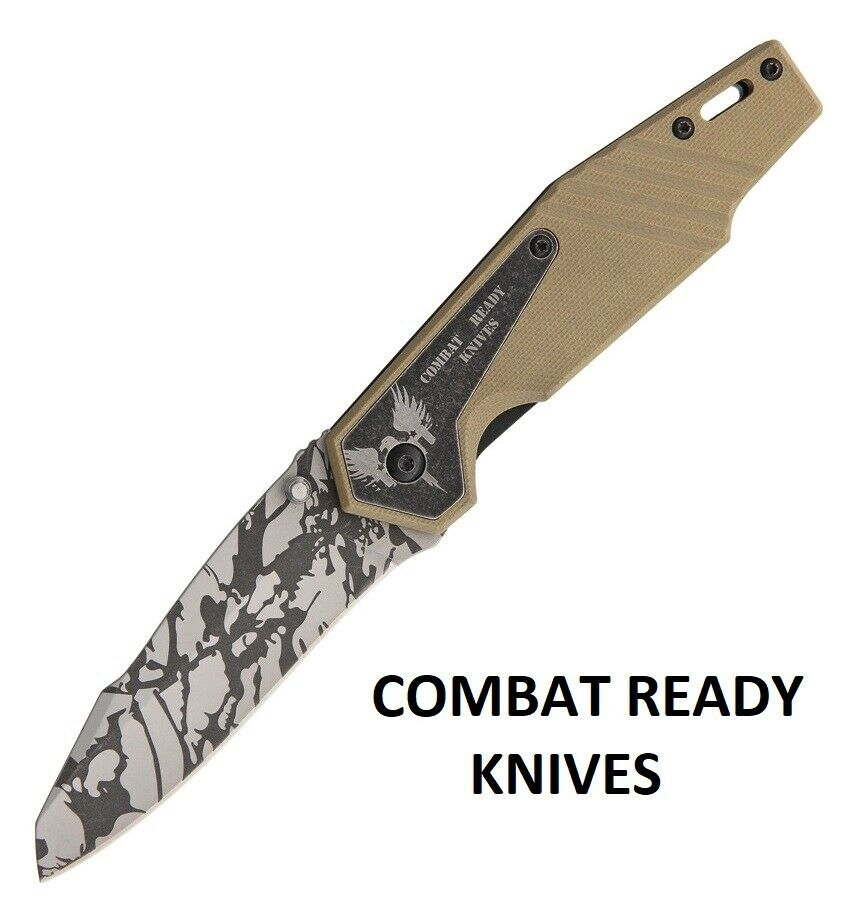 Combat Ready Pocket knife Assisted opening Ultimate Survival Free Shipping