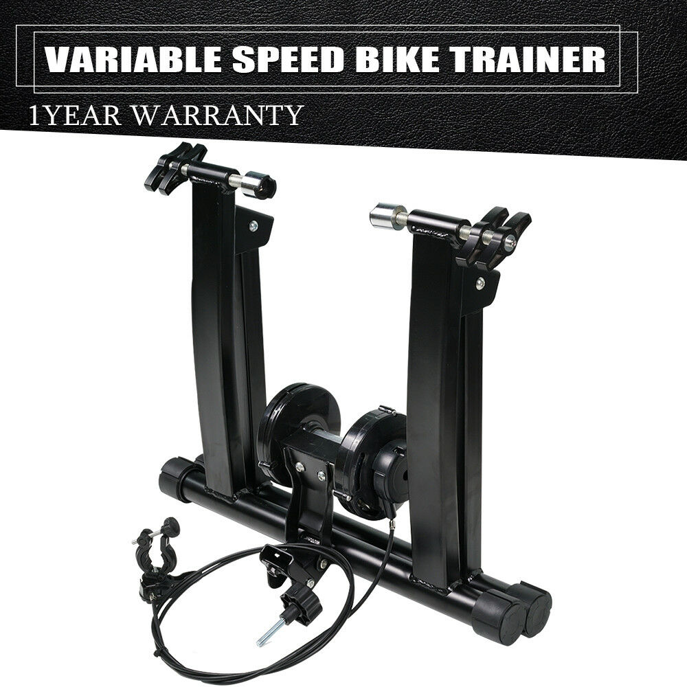 Exercise Bicycle Trainer Stand Stationary Indoor 7 Levels Magnetic Resistance