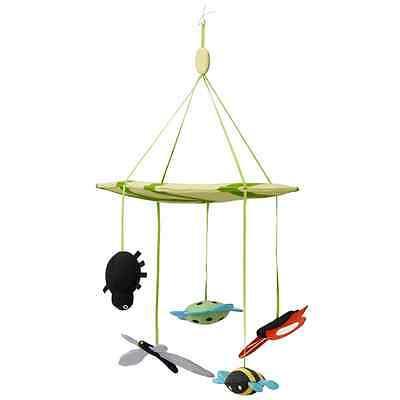 IKEA Bug Mobile Baby Kids Nursery Crib Bugs Soft Toy LEKA NEW Great Gifts