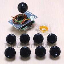 New Arcade DIY Kit Parts SANWA JLF-TP-8YT Joystick + 8 OBSF-30 Buttons + GT-Y