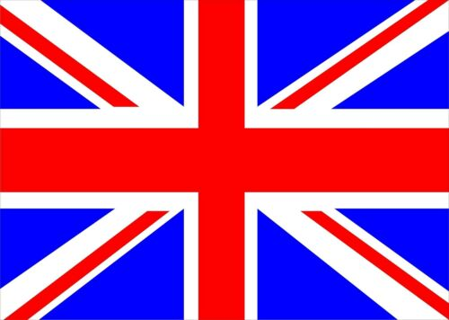 Laptop Computer Vinyl Skin Cover Union Jack UK Flag Sticker Graphic Label