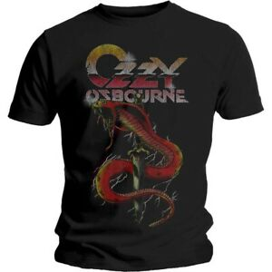Ozzy Osbourne T-shirt Vintage Snake Size Xl Official Merchandise