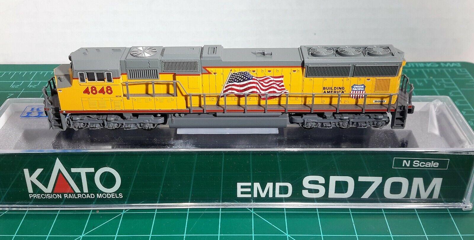 Escala N Kato EMD SD70M Union Pacific' ' Con DCC FÁBRICA artículo  176-8610-DCC