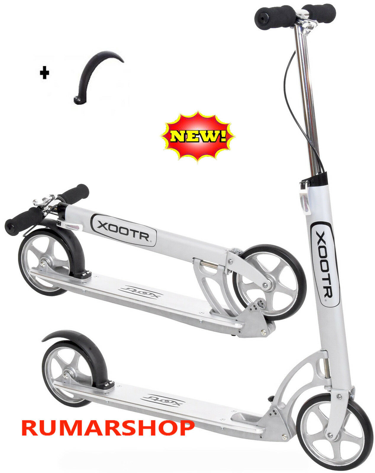 TOP PRODUCT NIEUW ORIGINELE XOOTR SCOOTER STEP AUTOPED MODEL ROMA + FENDER