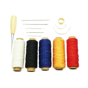 Details about 8 Kinds Canvas Leather Craft Tool Hand Sewing Stitching  Needles Carpet DIY Kit