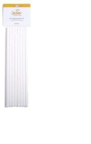 Rotex Pioli plastica set 8 30 cm polipropilene per piani livelli torte 8 mm