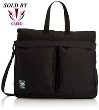 cd4132dc557 adidas Originals Classic Street Shopper Bag Black Trefoil   S20089