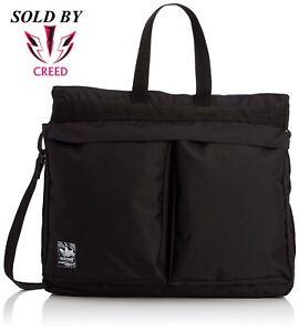 b3547bfbd7 Image is loading adidas-Originals-Classic-Street-Shopper-Bag-Black-Trefoil-