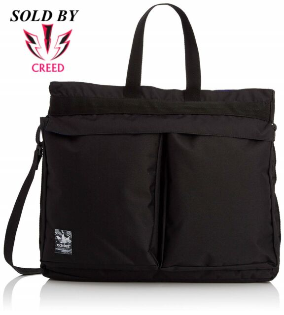 e8e612132a86 adidas Originals Classic Street SHOPPER Airline Bag Trefoil Black CW ...