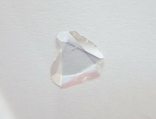 VS-SI Clarity F-G Color 1pc Nontreated Rose Cut Natural Diamond Flat Polki