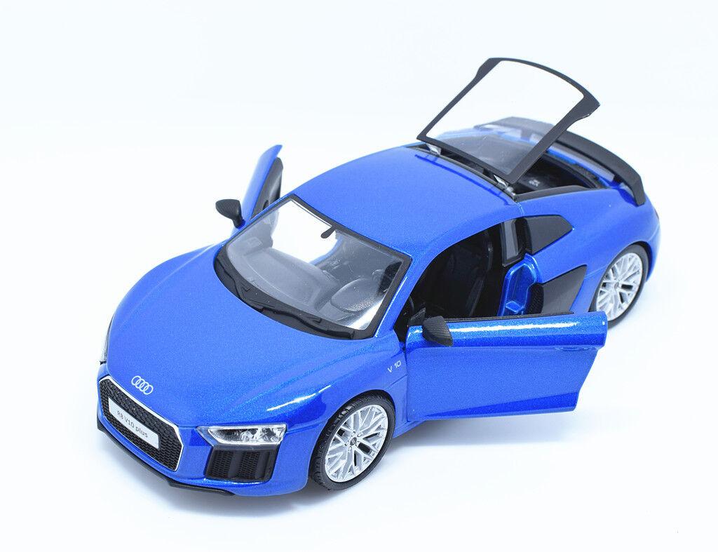 Maisto 1 18 Audi R8 V10 Plus Metal Diecast Model Car Roadster New in Box