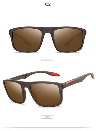 Fashion Vintage Men Square Polarized Driving Sunglasses Fishing Eyewear UV400