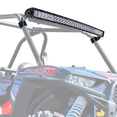 "Polaris Clamp-on Roll Cage LED 40/"" Light Bar Rack Mount RZR XP1000 Turbo S 900"
