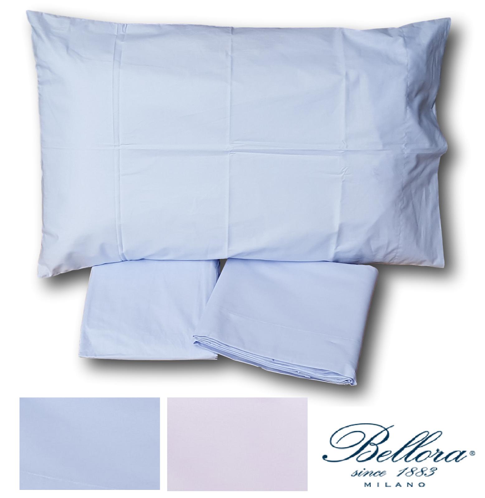 BELLORA. Set Bettbezug Farbe Perkal Cotton 100% Hochzeits- Doppel