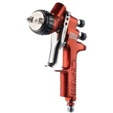 DeVilbiss 703661 Tekna Copper Gravity Feed Spray Gun with 1.3 and 1.4 Needle