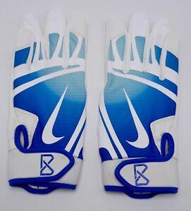 Nike-Huarache-Edge-Gants-Batteur-Baseball-Blanc-Jeu-Royal-Jeunes-Grand