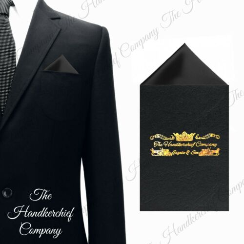 Point Satin Pocket Square Handkerchief Card Holder Suit Jacket Silky Wedding