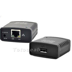 USB-2-0-Network-LPR-Print-Server-Printer-Share-Hub-Palm-Size-network