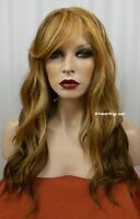 Heat Ok .. Lace Front Tease Wig From Sepia Hot Color F2014 - Blondes/auburn