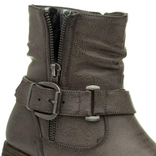 Lilley /& Skinner Womens Grey Ankle Boots with Buckle Size EU 36,37,38,39,40,41