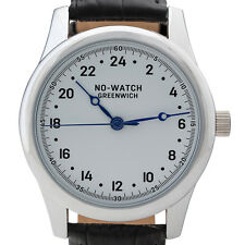 Classic 24 hour watch with quartz Swiss movement. Numbered Limited Edition!