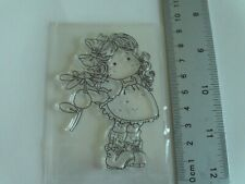 001883//1116 REDUCED cArt-Us Clear Acrylic stamp SMALL SNOWMAN WITH HEART
