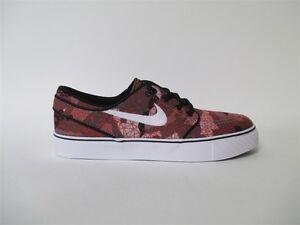 Nike SB Janoski Canvas Cherry Blossom White GS Grade School Sz 6.5 654862 101