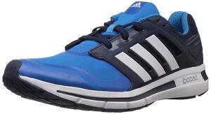 Laufschuh-Sportschuh-Herren-adidas-revenergy-techfit-blau-weiss-schwarz-Gr-42