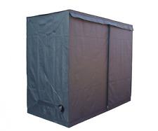 Outdoor Grow Tent Dark Green Room Bud Garden Hydroponic Portable 240x 120x 200cm