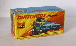 Repro Box Matchbox Superfast Nr.42 Tyre Fire