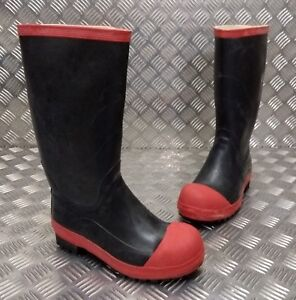 Genuine-Military-Issue-Safety-Wellington-Gummi-Boots-Wellies-Steel-Toe-Cap-NEW