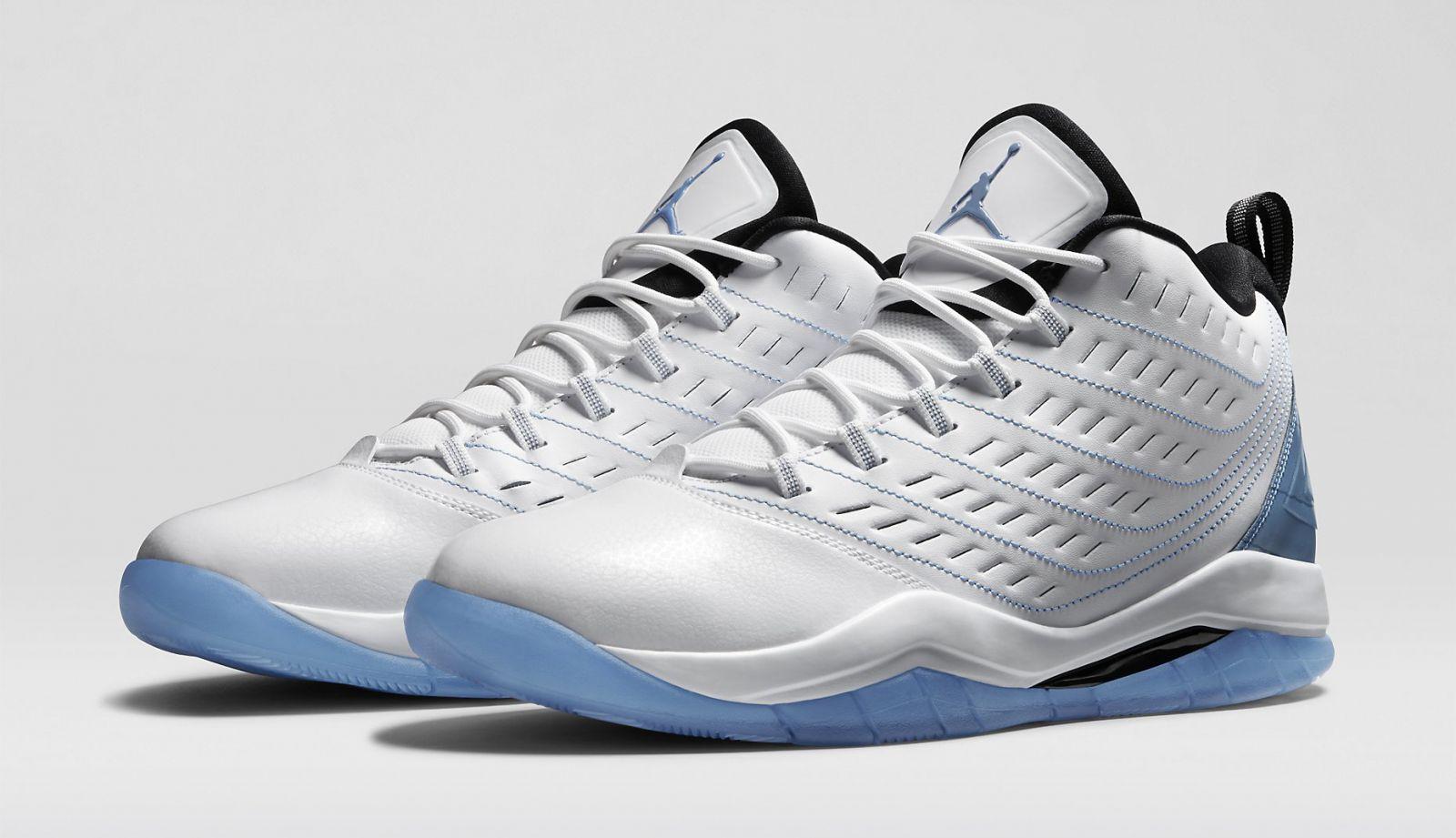 New Nike Jordan Velocity Basketball shoes Men's Size US 10 White Legend bluee