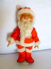 """Large 12"""" Vintage Steiff Santa Claus All ID # 731 1950s Germany Stand Felt"""