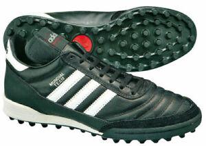 Dettagli su scarpe calcetto calcio Adidas Mundial Team Tf Blk Wht professional 019228