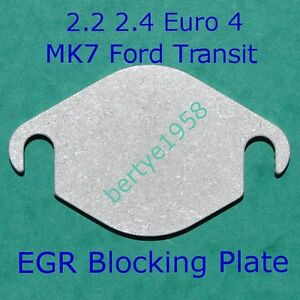 EGR-Valve-Blanking-Plate-Ford-MK7-Transit-2-2-2-4-tdci-Land-Rover-2-4-Some-Taxis