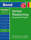Bond First Papers in Verbal Reasoning 7-8 Years by Andrew Baines (Pamphlet, 2007)