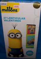 Valentines Day Cards (box Of 27) Minions Despicable Me