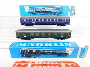 Cf598-1-2x-Marklin-h0-ac-Voiture-4029-sommeil-voiture-CIWL-a-bagages-DB-Neuf-dans-sa-boite