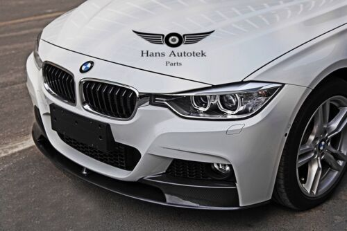 Bmw 3 series F30 F31 MPerformance Style Carbon front lip Msport bumper only